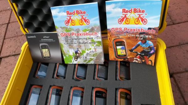 Gps Praxisbuch Red Bike : Garmin u gps u set